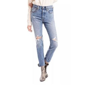Levi's 501 High Rise Skinny Jeans in Old Hangouts